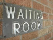 Waiting Room Sign image
