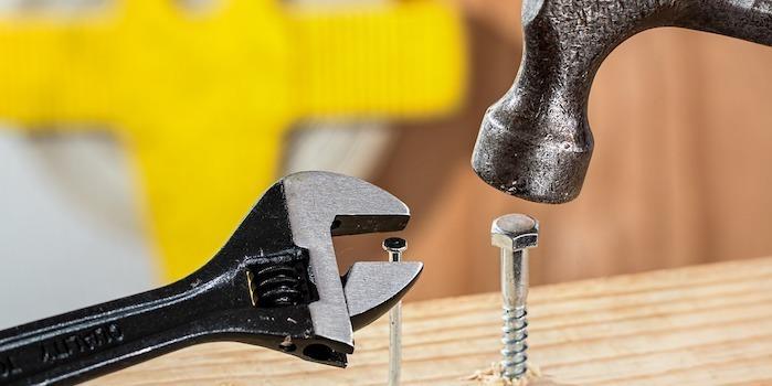 Communication image hammer wrench